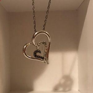 Kay Jewelers Heart Pendant Necklace
